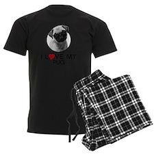 I love My Pug Pajamas