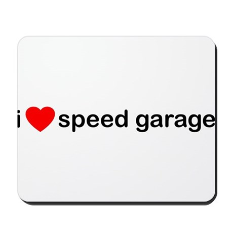 I Heart Speed Garage Mousepad