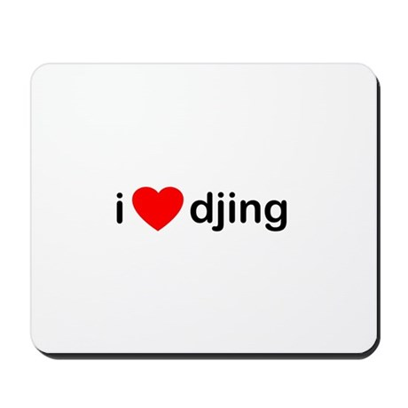 I Love DJing Mousepad