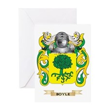Boyle Coat of Arms Greeting Card