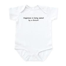Happy Ocicat Infant Bodysuit