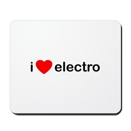 I Heart Electro Mousepad