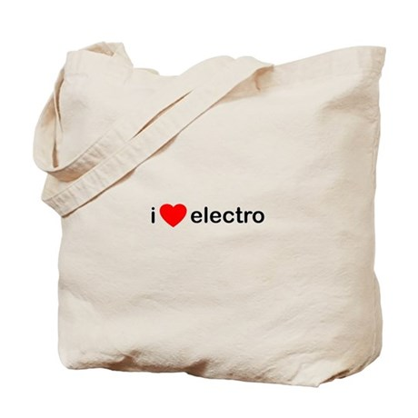 I Heart Electro Tote Bag