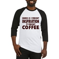 Genius 99% Coffee Baseball Jersey