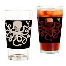 octopus-hands-TIL Drinking Glass