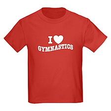 I Love Gymnastics T