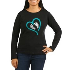 Baby Feet Heart B T-Shirt