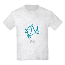 Blub, The Blue Fish T-Shirt