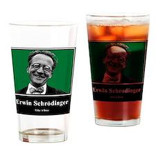 Erwin Schrodinger Like A Boss Drinking Glass