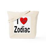 I Love Zodiac Tote Bag
