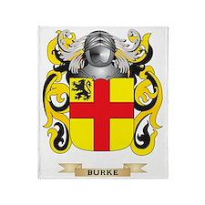Burke Coat of Arms Throw Blanket