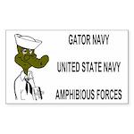 Gator Navy Sticker