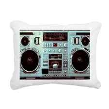 Boom Box Fun Rectangular Canvas Pillow