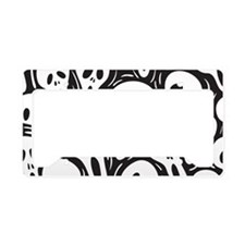 oval33 License Plate Holder