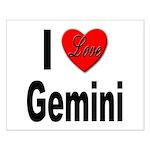 I Love Gemini Small Poster