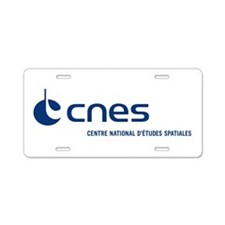 CNES Aluminum License Plate
