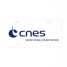 CNES Aluminum License Plate