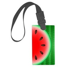 Watermelon Slice Luggage Tag