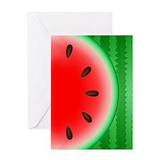 Watermelon Slice Greeting Card