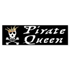 Pirate Queen Bumper Bumper Sticker