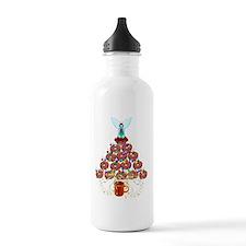 Doughnut Angel Tree Water Bottle