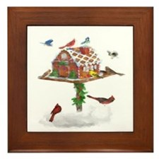 Ginger-Bird Framed Tile