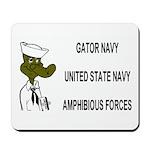 Gator Navy Mousepad