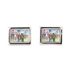 Sam and Dean Motel Cufflinks