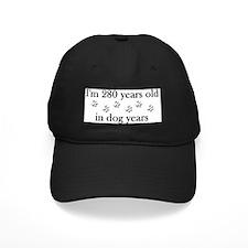 40 birthday dog years 4-2 Baseball Hat