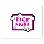 Dice Night Small Poster