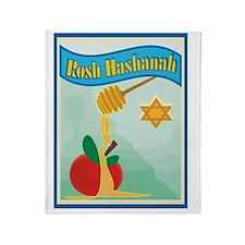 Rosh Hashanah Throw Blanket