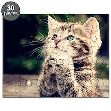 Cat Praying Puzzle