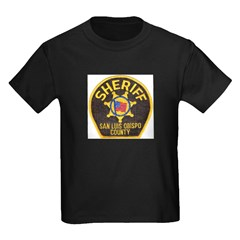 San Luis Obispo Sheriff Kids Dark T-Shirt