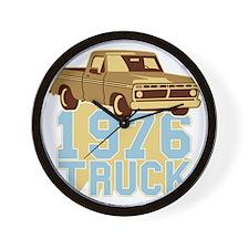 76er  Pickup Truck Wall Clock