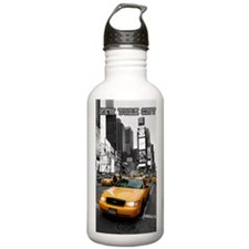 Times Square NYC Water Bottle
