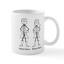 Super Stick Figure Couple Mug