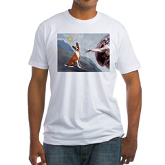 Creation of the Basenji Fitted T-Shirt