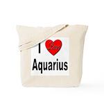 I Love Aquarius Tote Bag