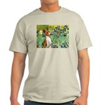 Basenji in Irises Light T-Shirt