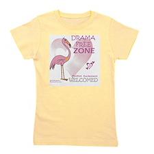 pink_flamingo_large03 Girl's Tee