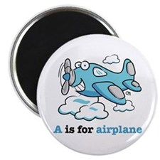 "Cute Airplane cartoons 2.25"" Magnet (10 pack)"