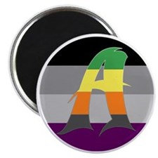 Aromantic Asexual #1 Magnet