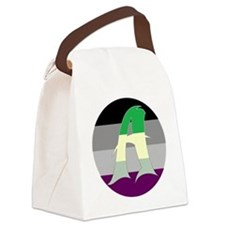 Aromantic Asexual #2 Canvas Lunch Bag