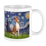Starry Night & Basenji Mug