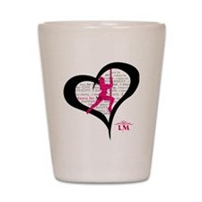 LM Dancer Heart Shot Glass