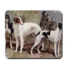 Borzoi And Sighthounds Mousepad