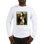 Mona Lisa - Basenji Long Sleeve T-Shirt