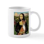 Mona Lisa - Basenji Mug