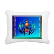 Calender Scarab-The Divi Rectangular Canvas Pillow
