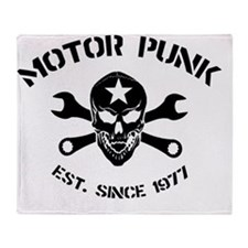 Motor punk - Est. since 1977 Throw Blanket